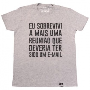 Reunião Corporativa: camiseta.